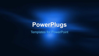 PowerPoint Template - An abstract background